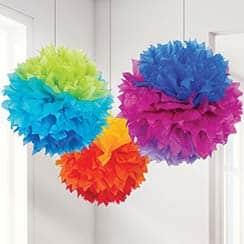rainbow-pom-poms