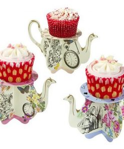 Alice In Wonderland Tea Pot Cake Stands