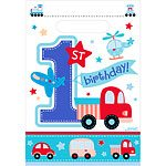 All Aboard 1st Birthday Party Bags (Pk 8)
