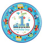 All-Aboard-1st-Birthday-Plates