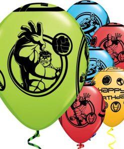Avengers Printed Latex Balloons