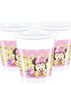 Baby Minnie Plastic Cups - 200ml
