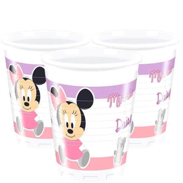 Baby Minnie Plastic Party Cups