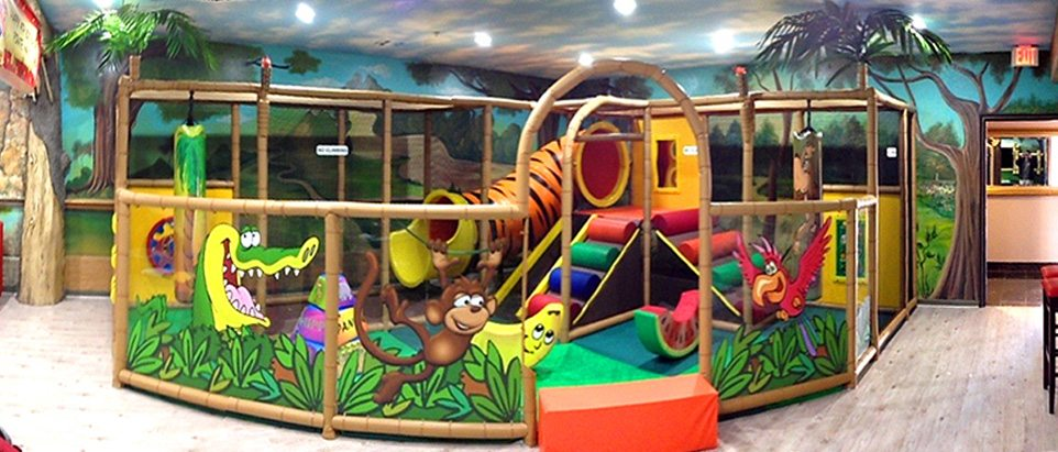 Discounted party supplies for children 39 s play centres for Fitness 19 kids room