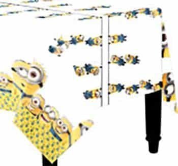 Despicable Me New Minions Party Tablecover