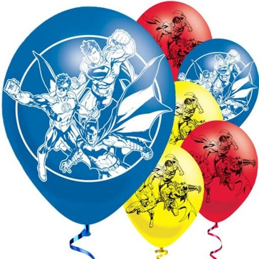 Justice League Printed Balloons