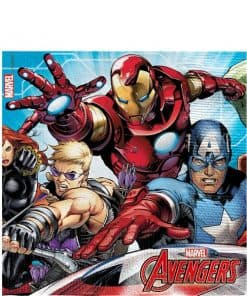 Mighty Avengers Party Paper Napkins