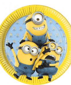 Minions Party Paper Plates