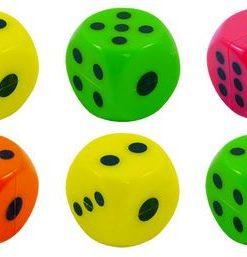 Plastic-dice