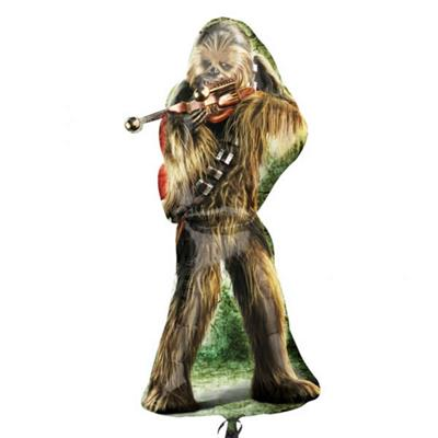 Star Wars Party Chewbacca Supershape Foil Balloon 96cm
