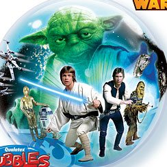 Star Wars Party Bubble Balloon - 22''