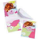 Charming Horses Party Invites (Pk 6)