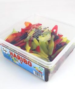 Tub of Haribo Freaky Fish Sweets (120pk)
