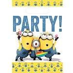 NEW Despicable Me Minions Party Bags (Pk 8)