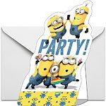 NEW Despicable Me Minions Party Invites (Pk 8)