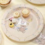Rock A Bye Baby Party Paper Plates 23cm (8pk)