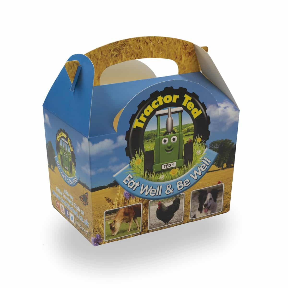 Tractor Ted Party Food Box - each