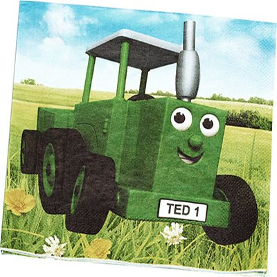 Tractor Ted Party Paper Napkins (Pk 16)