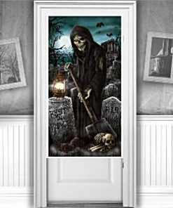 Cemetery-Door-Decoration