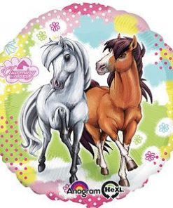 Charming-Horses-Foil-Balloon