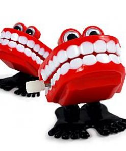 Clockwork Chattering Teeth Toy