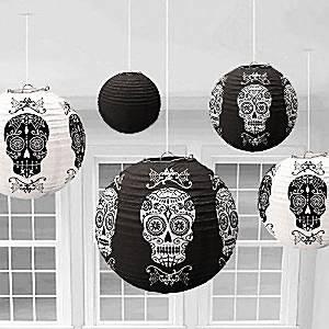 Halloween-Hanging-Lanterns