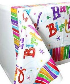 Happy Birthday Tablecover