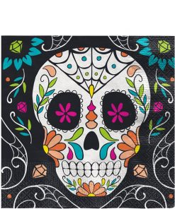 Halloween Day of the Dead Paper Napkins