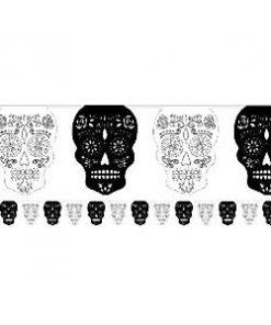 Skull-Rose-Bunting
