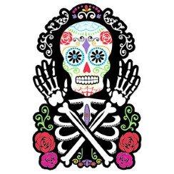 Skull-Rose-Cutout