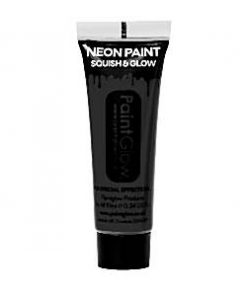 UV Black Face Paint Tube - 10ml