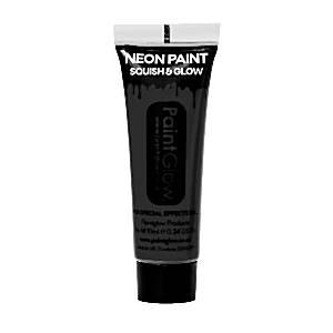 UV Black Face Paint Tube - 10ml