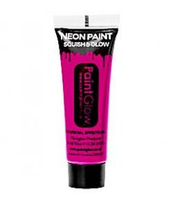 UV Fuchsia Face Paint Tube - 10ml