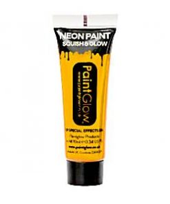 UV Golden Yellow Face Paint Tube - 10ml