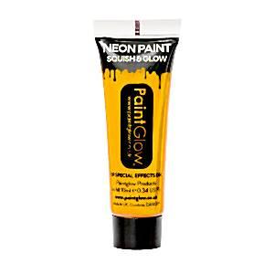 UV Golden Yellow Face Paint Tube - 10ml