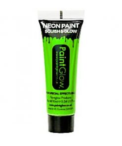 Neon Green Glow in the Dark Paint Tube - 10ml
