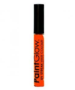 UV Neon Orange Hair Streaks Tube - 10ml