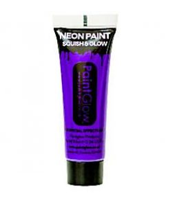UV Purple Face Paint Tube - 10ml