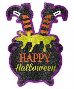 Witch Glitter Decorations 1