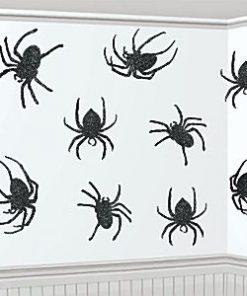 glitter-spider-cutouts