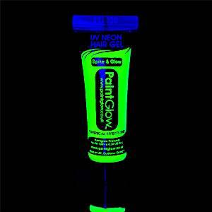 UV Neon Green Hair Gel - 10ml