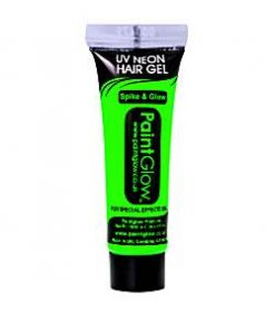 UV Neon Green Hair Gel - 10ml