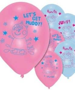 Peppa Pig Printed Latex Balloons