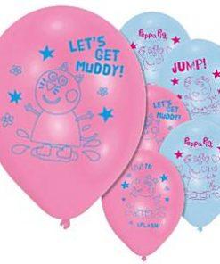Peppa Pig Printed Balloons