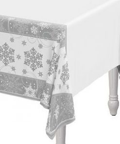 Sparkling-Snowflake-Paper-Tablecover