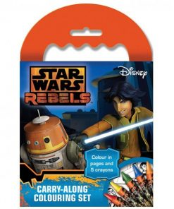 Star Wars Party Rebels Carry-Along Colouring Set