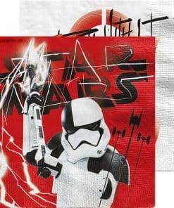 Star Wars The Last Jedi Party Paper Napkins
