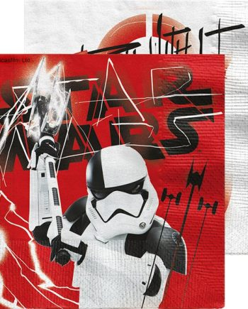 Star Wars The Last Jedi Party Paper Napkins