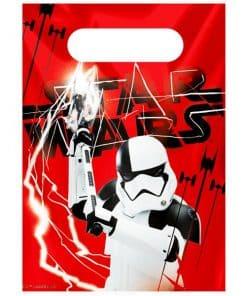 Star Wars The Last Jedi Party Plastic Loot Bags
