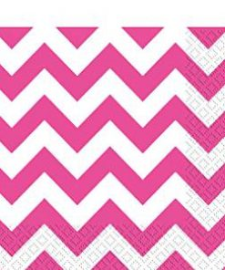 hot-pink-chevron-napkins